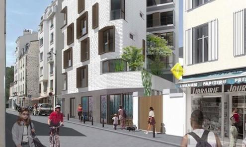 Image illustrant le programme immobilier de la société Excelya à Paris