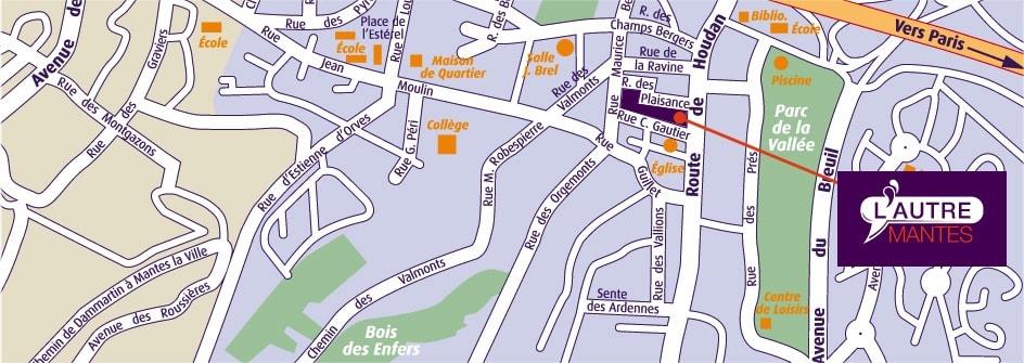 Plan du programme immobilier Excelya à Mantes la Ville