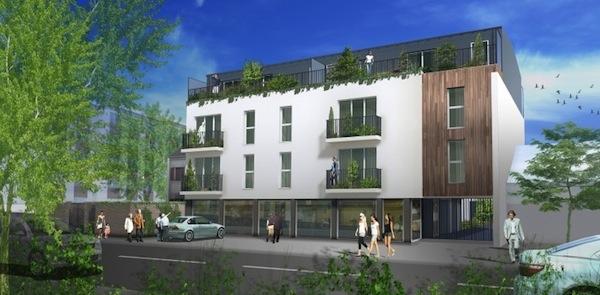 Image illustrant le programme immobilier de la société excelya situé à chennevieres sur marne